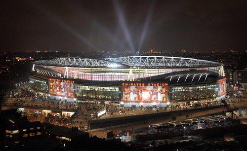 17. Emirates Stadium, London, England