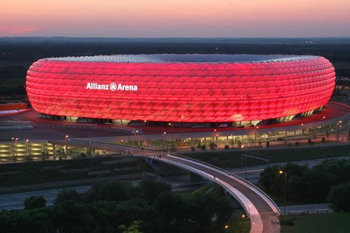 2. Allianz Arena, Munich, Germany