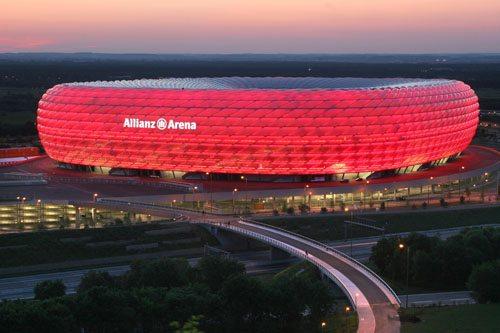 2. Allianz Arena, Munich, Germany