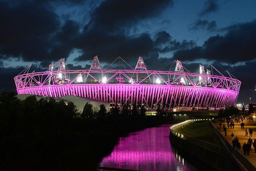 22. Stadium at Queen Elizabeth Olympic Park, London, England