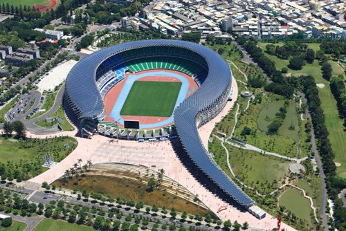 3. Kaohsiung National Stadium, Zuoying District, Taiwan