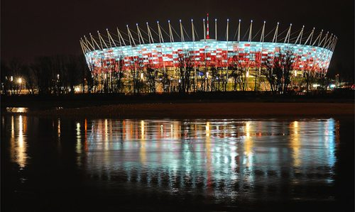 6. National Stadium, Warsaw, Poland