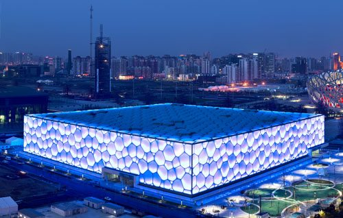 7. Beijing National Aquatics Center, Beijing, China